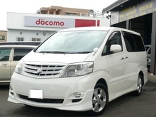 Good Condition and Righthand drive used car toyota alphard at reasonable prices