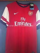 Arsenal Yellow Jersey June 2013, Men's size Lg., NWT