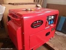Three phase silent type Swiss Kraft SK6500 diesel generator