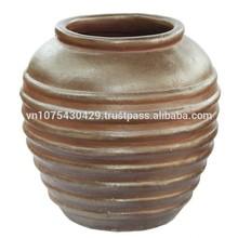 Large Dark Clay Pot Clay Tree Pot