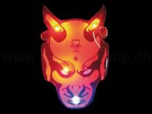 LED blinking pin devil red
