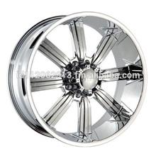 24 inc DW 903 Chrome Rims 305 35 24 Tires Hummer H2 8 lug Wheels 8x165 Chevy 2500