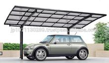 LIXIL easy to assemble aluminum carports mobile car garage