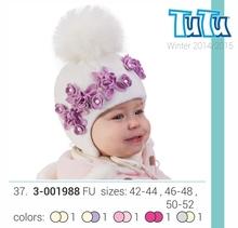 Winter hat for baby girl