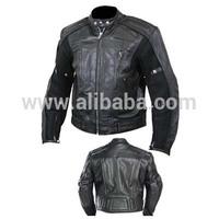 Motor Bike Leather Jacket / Motor Bike Leather Wears