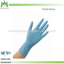 Industrial Usage Clean Room/Dust Free Room Nitrile Work Gloves