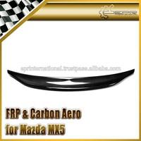 For Mazda MX5 NA MK1 Miata Type 2 Ducktail Carbon Fiber Rear Spoiler