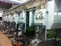 Cerutti Rotogravur 6 Colours Printing Machine