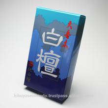 Seikado Japanese Incense Sticks, Daikoboku Byakudan (Sandalwood), Economical Bulk Pack