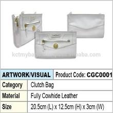 Lady Leather Clutch Bag