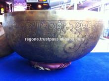 Tibetan handmade singing bowls manufacture