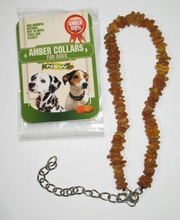 Amber collars for dogs, size L, color Plain