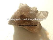 smoky quartzo cristal natural cluster
