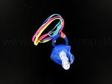 LED blinking blue pacifier