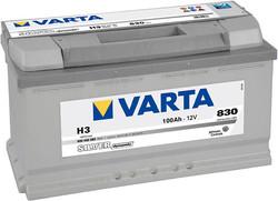 Best quality Battery Varta 100Ah 830A 353x175x190 H3