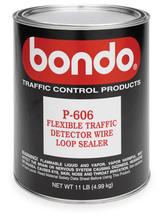 Bondo, P-606 Flexbile Sealant, 4.5 Gallon Pail Traffic Wire Loop Sealant