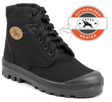 Black Men Israel Army Boots Dafna Scout Palladium Canvas Combat Shoes All Sizes