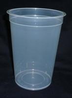 Plastic cup 670ml TP Tamper proof