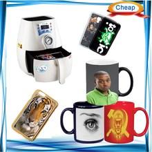 3D case cup printer, 3d mini sublimation machine, minimum space image on mug printer