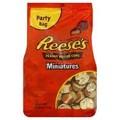 Reese de manteiga de amendoim copos, Miniaturas, Leite Chocolate - 19.75 oz família b