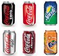 Coca cola, sprite, fanta, pepsi, puede 355ml, el precio más barato