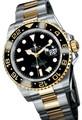 usado rolex gmt master ii aço relógio de ouro