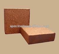 Coco peat/Coir pith 5kg blocks for flower garden uk market