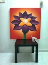Black Lotus Paint Artwork