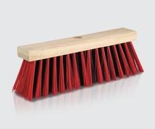 wooden block floor brush