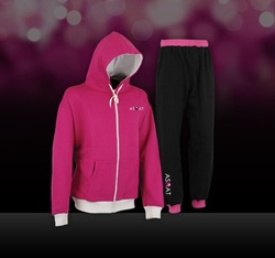2015 fashion cheap women/girls hoodie set sport suit tracksuit Jogging suits tip quality tracksuits made by Sialkot - Pakistan