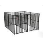 European Style 2 Run Wide Yard Kennel, 6' H x 5' W x 10' L ...