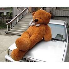 "Joyfay 91"" / 230 cm Big Giant Teddy Bear Dark Brown Soft And Puffy Messenger of Love"