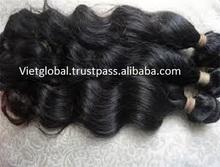 Wholesale 100% vietnamese human hair weaving natural hair weft extension vietglobal hair