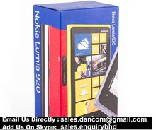 Hot Price for Nokia Lumia 920 WITH FULL ACCESSORIES INBOX