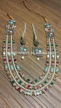 Diamond Kundan Jewelery Wedding Jewellery Collection 2014