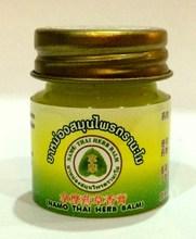 8G NAMO THAI HERB BALM GREEN OINTMENT-MASSAGE-PAIN RELIEF / MUSCLE ACHES/ HEADACHE / RASH SKIN/ FREE SHIP