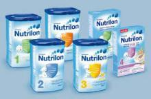 nutrilon bebé la leche fórmula