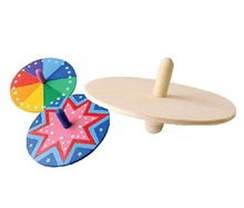 Wooden Spinning Top - Loose