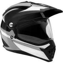 SparX Nexus Graphics Dual Sport Motorcycle Helmet - Octane Black TR