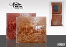 KHATOCO Ostrich Leg Leather Wallets 04019