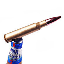 Custom New Handled Beer Opener Copper 50 Caliber Bullet Bottle Opener