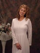 Lds Temple Dress Mormon Lds White Apparel Baptisum