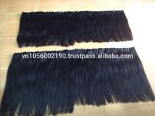 Double drawn straight hair remy human hair