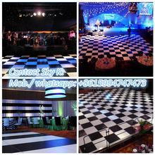 multicolor waterproof led party t-shirt dance floor led portable dance floor