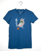 Bad wolf Asphalt Blue Womens' Youth T-shirt