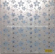 Hot design 60 cm* 60 cm * 0.8 cm PVC ceiling tile for interior decoration ( 6322-2 )