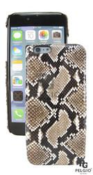 "PELGIO Genuine Python Skin Mobile Phone i6 4.7"" Hard Case Natural"
