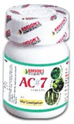 Bakson's Homeopathy AC#7 Tablet - 75 Tablets