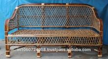 Cane Sofa Three Seated