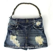 New design Japan wholesalers denim sling bag for woman & girls